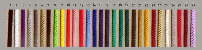 цветные шнуры для пакетов